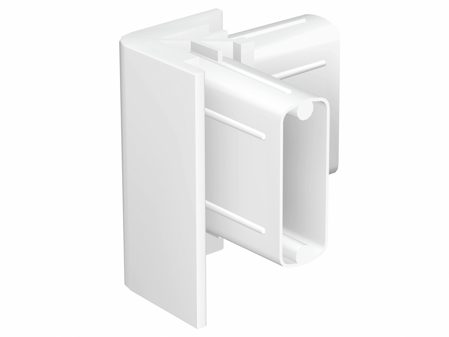 Corner Connector White for Click Rail