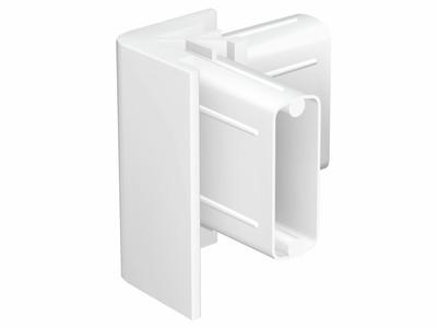 Corner Connector White for Click Rail