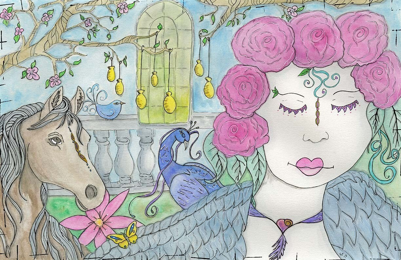 Camelot Garden Print