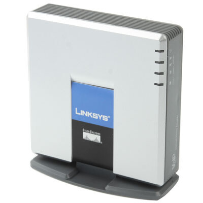 Linksys PAP2T-δωρεάν χρόνο ομιλίας 300 κινητά
