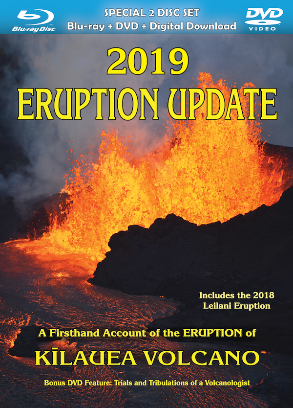 2019 Eruption Update DVD & BluRay