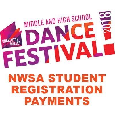 Charlotte Ballet MS/HS Festival Fee