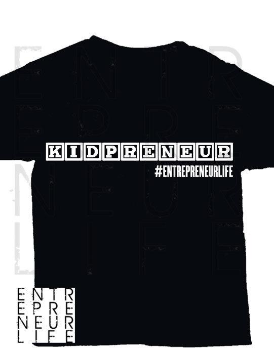 Kidpreneur Block T-shirt
