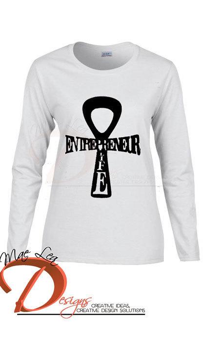 Entrepreneur Life™ Ankh T-shirt