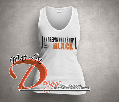 Entrepreneurship is the New Black Tank - White