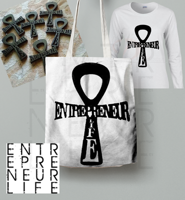 Entrepreneur Life™ Ankh Set w/Necklace