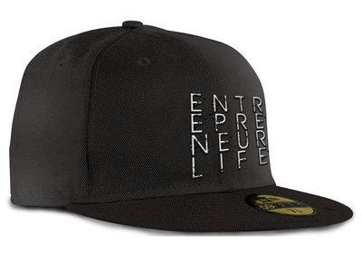 Entrepreneur Life™ Fitted Cap - Black