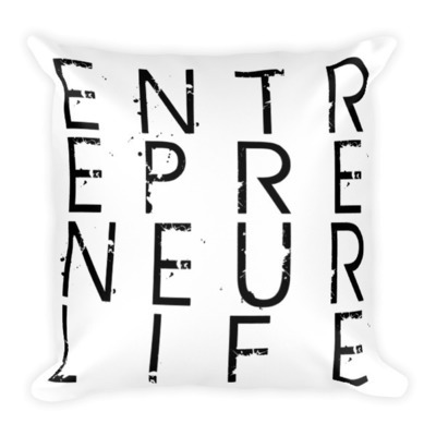 Entrepreneur Life™ Square Pillow