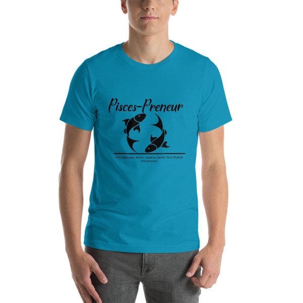 Pisces-Preneur Short-Sleeve Unisex T-Shirt