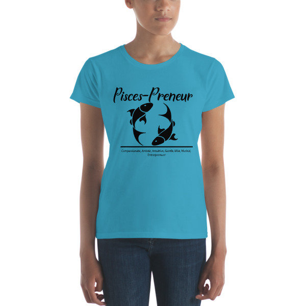 Pisces-Preneur Women's short sleeve t-shirt