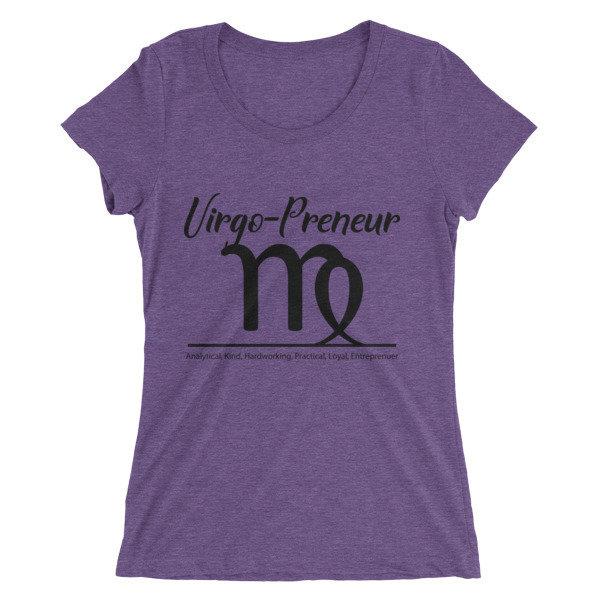 Virgo-Preneur Ladies' short sleeve t-shirt
