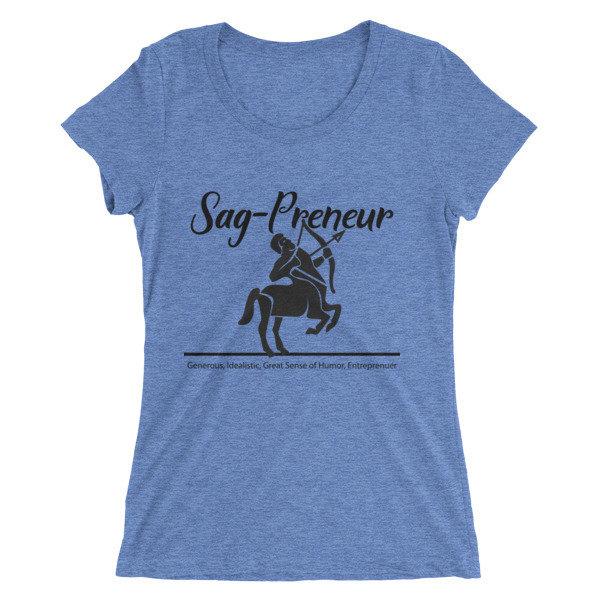 Sag-Preneur Ladies' short sleeve t-shirt