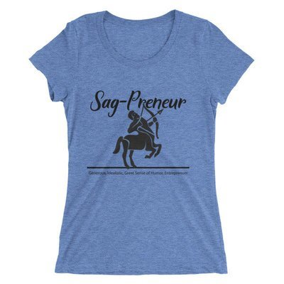 Sag-Preneur Ladies' short sleeve t-shirt