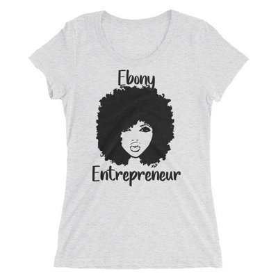 Ebony Ladies' short sleeve t-shirt