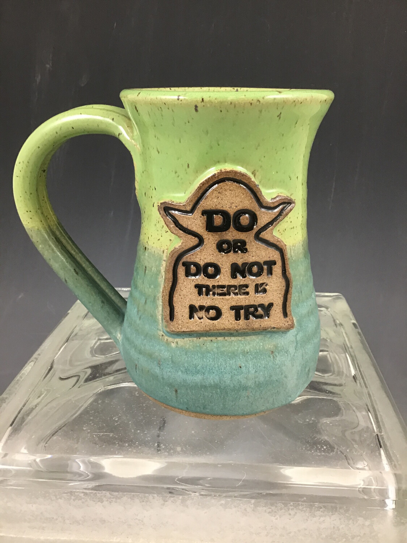 """Yoda """"Do Or Do Not """" Large Mug"""