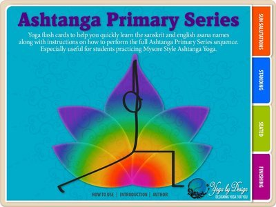 Ashtanga Primary Series Flash Cards Interactive Yoga eBook