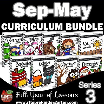 Curriculum Bundle [9 Monthly Lessons]  Series 3