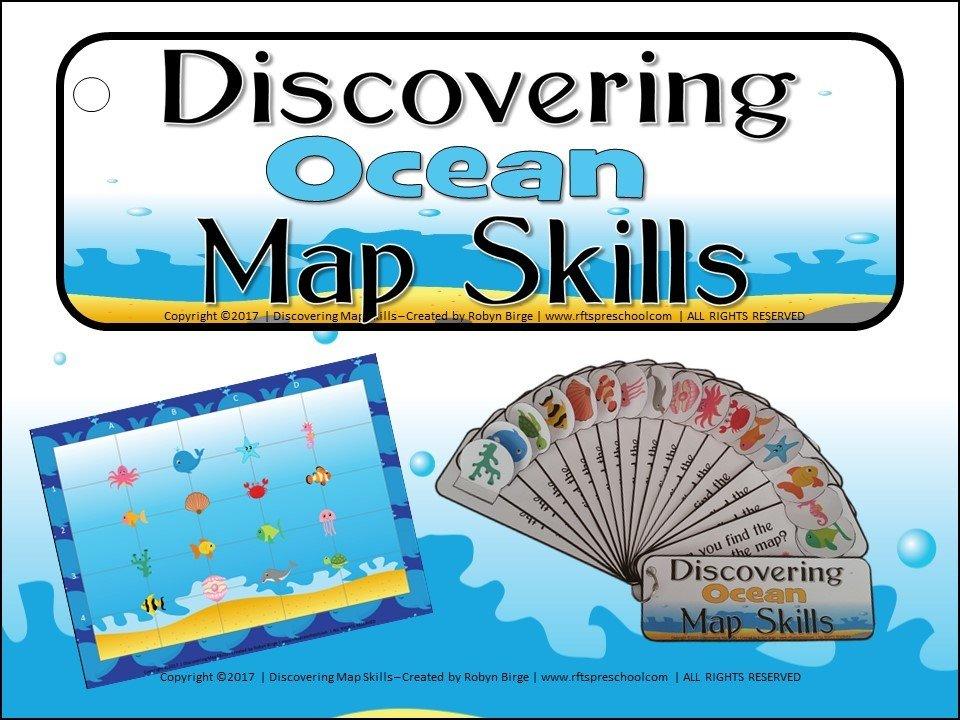 KINDERGARTEN MAP SKILLS - OCEAN