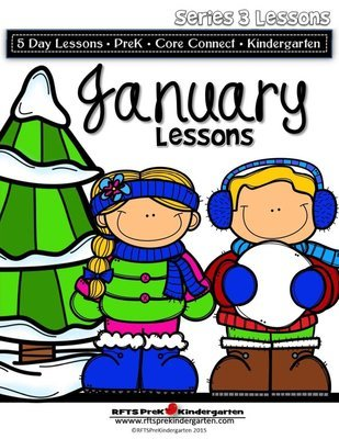 January Lesson Plans [Four 5-day Unit] Series 3