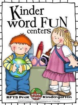 Kindergarten Word Work Centers
