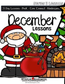 December Lesson Plans [Four 5-day Units] Series 3
