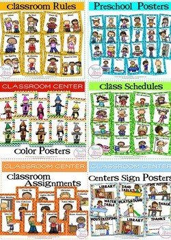 ​Classroom Poster Sets (6 sets in all)