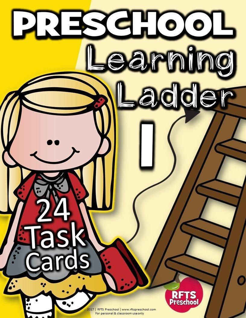 PRESCHOOL LEARNING LADDER (Set 1)