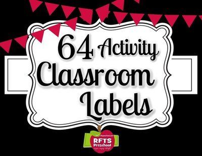 Activity Labels for the Classroom