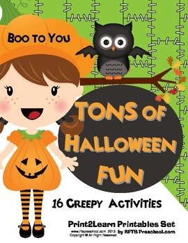 HALLOWEEN FUN {Tons of} BOO BUNDLE