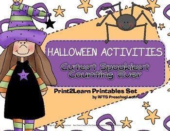 Halloween Activities Cutest Spookiest Counting Ever