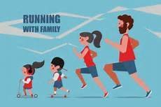 Family of Four 5k and 1-Mile Fun Run