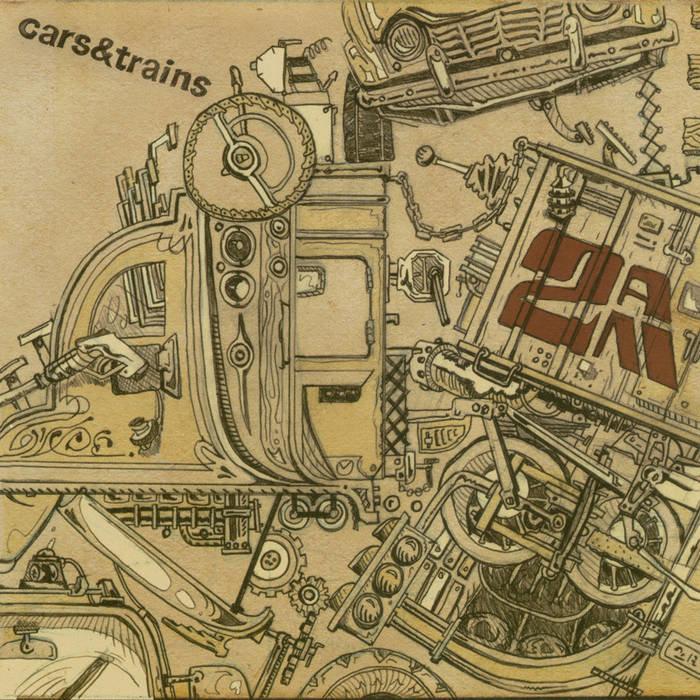 """cars & trains - """"2AM"""" [CD] dhh003"""