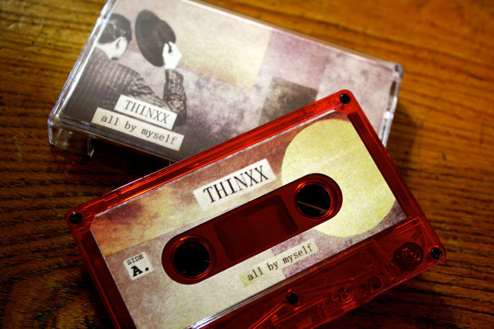 "ThiNXx - ""All by Myself"" [Cassette]"