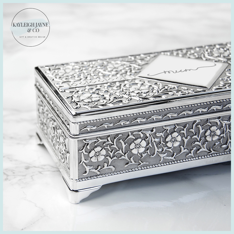 Personalised Luxury Jewellery Box