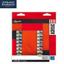 Акриловые краски Lefranc Louvre (Лувр) 24цв