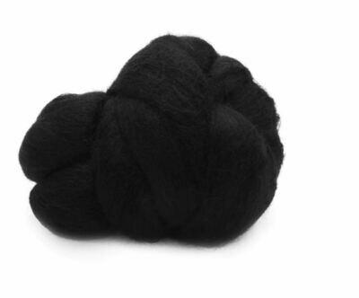 Шерсть натуральная merino Rayher, 50г черная