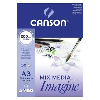 Альбом Canson Imagine A3 - 29,7 x 42cm (50л)