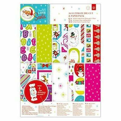Набор бумаги A4 (48шт) - Love Santa