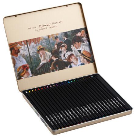 Набор цветных карандашей, 24 шт. Marco Renoir