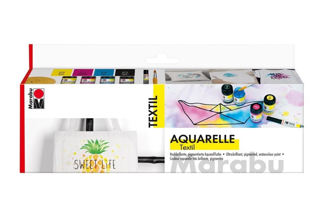 Набор красок Marabu Textil Aquarelle