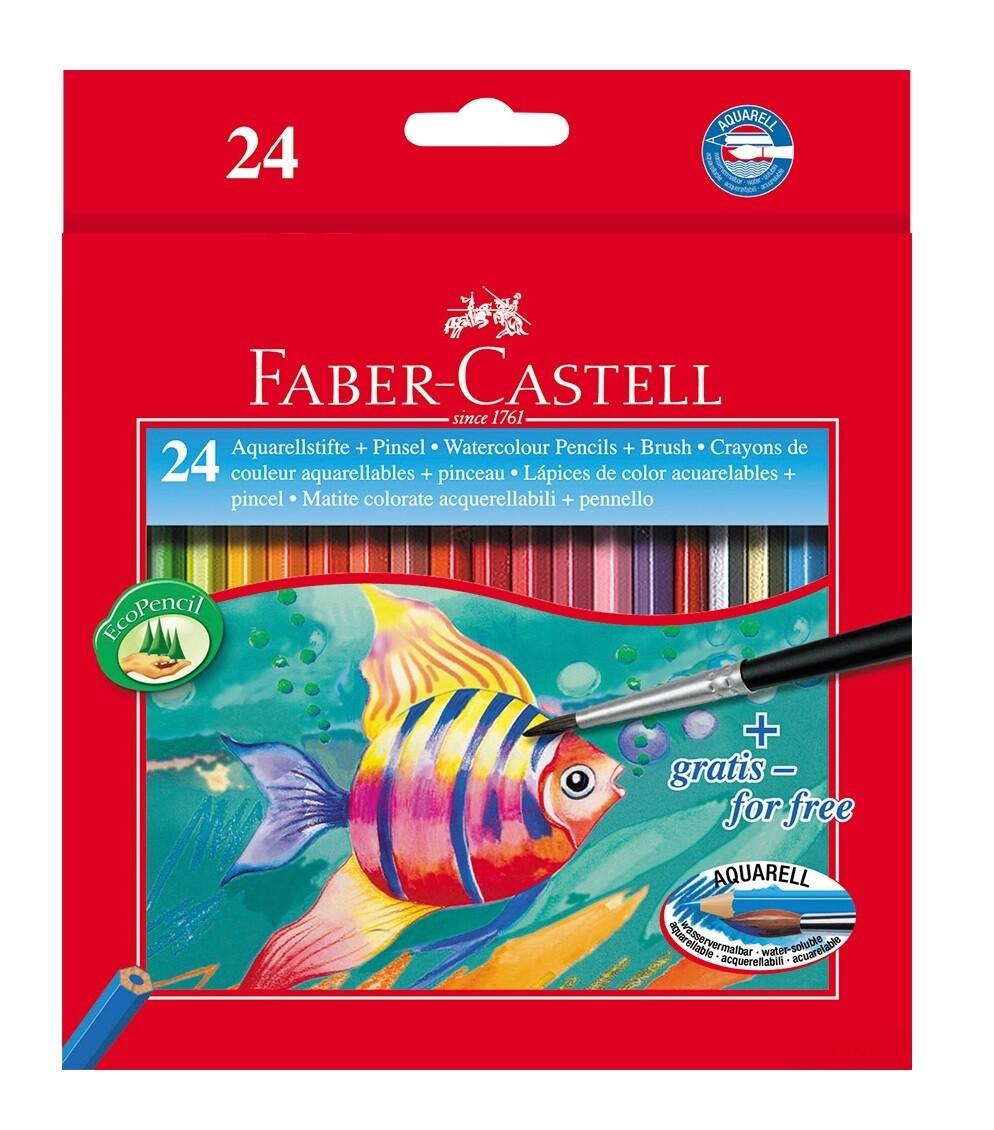 Набор акварельных карандашей Faber-Castell 24 шт