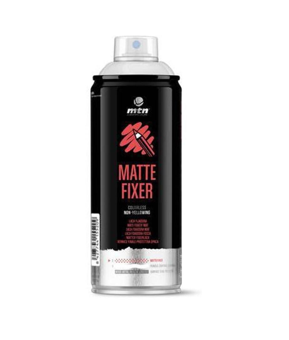 Лак матовый фиксатив для пастели MTN PRO Matte Fixer 400ml