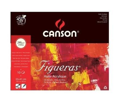 Альбом Canson 290гр 33*41см 10 л