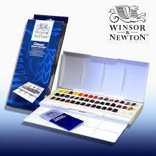 Акварель Winsor&Newton 45цветов