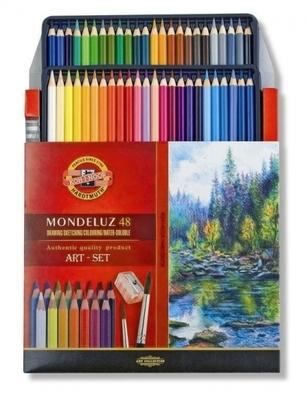Набор K-I-N 72 акварельных карандашей