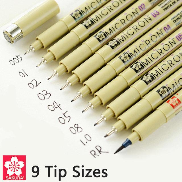 Линер Sakura Pigma Micron Pens черный