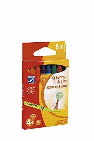 Восковые карандаши Lefranc 8шт