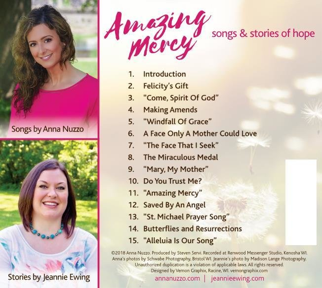 Amazing Mercy: Songs and Stories of Hope (CD) 00001