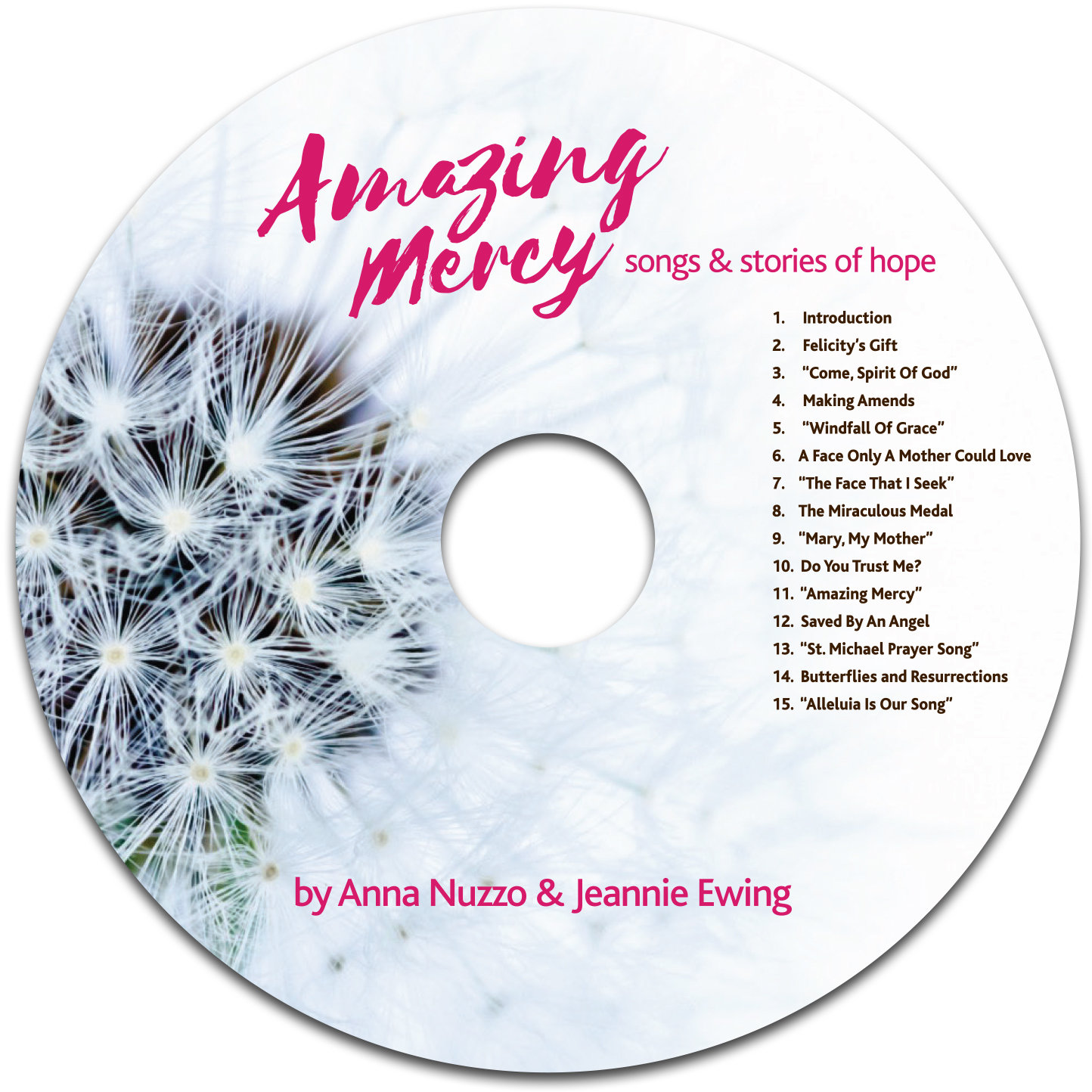 Amazing Mercy: Songs and Stories of Hope (CD)