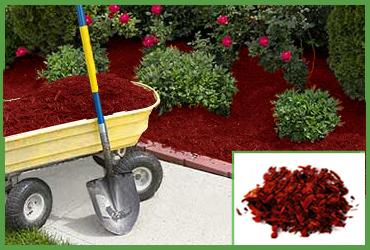 Red Cedar Mulch By Cubic Yard